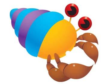 小螃蟹找房子