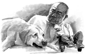 救助犬的最后遗言