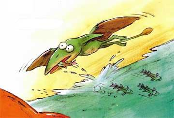 恐龍加加學游泳
