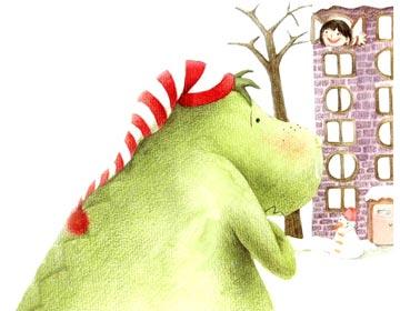 怕冷的恐龙