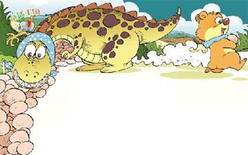 恐龙妈妈藏蛋