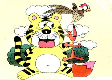 爱吃爆米花的小老虎