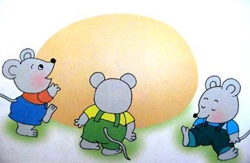 小老鼠做蛋糕