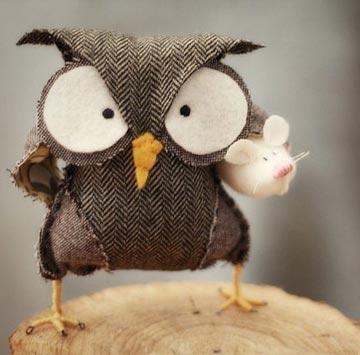 森林衛士貓頭鷹