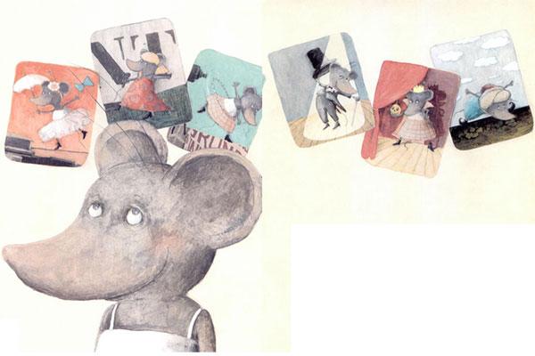小老鼠米米学芭蕾