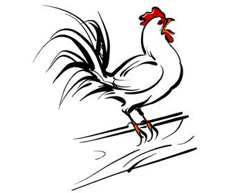 一只欠揍的雞