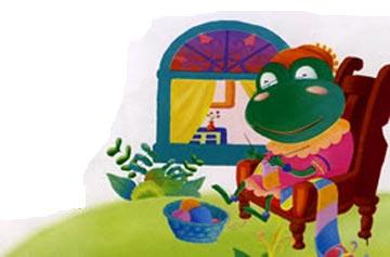 青蛙奶奶的快乐围巾