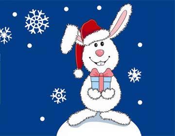 兔子的圣诞节