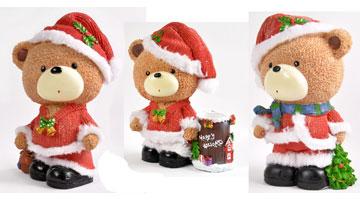 三只熊过圣诞节