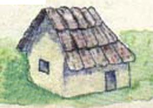 矮婆婆的树皮小屋