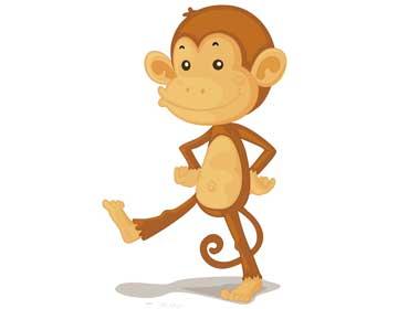 跳跳猴逃跑了