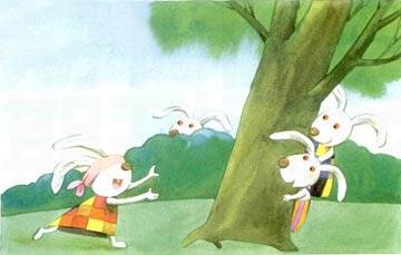 河东岸的兔子