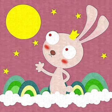 兔子的月亮