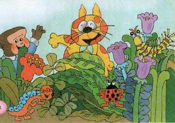 小猴挤挤的小花园
