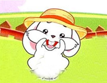 小白兔的草帽