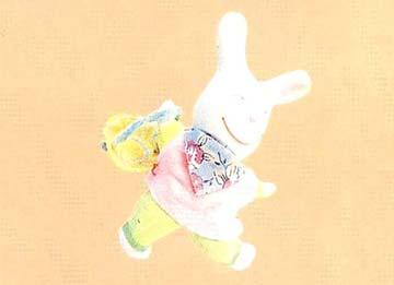 小白兔曬太陽