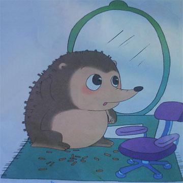 小刺猬理发