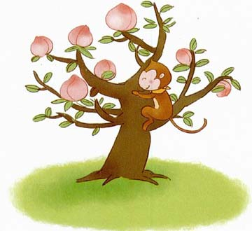 桃树简笔画图片 第3张