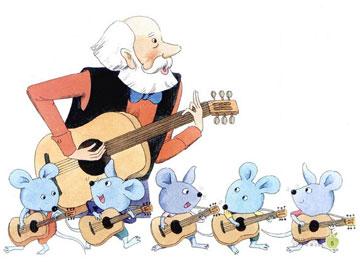会弹琴的小老鼠