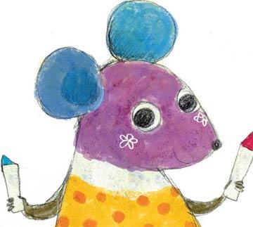 彩色的小老鼠