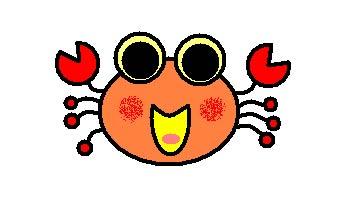 小螃蟹找池塘