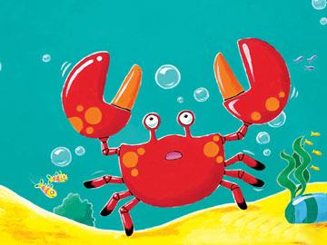 小螃蟹找工作