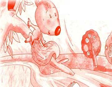 小松鼠的故事书