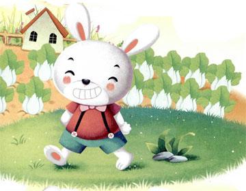 驕傲的小兔半半