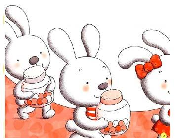 小兔子战胜大灰狼