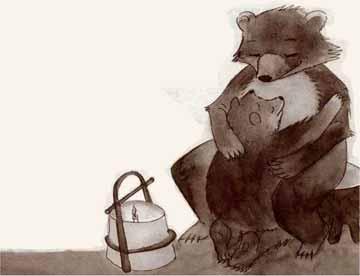 睡不着觉的小熊
