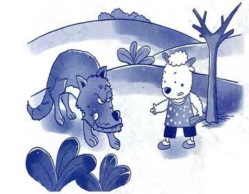 种树的小羊赢了老狼