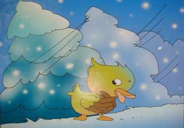 迷路的小鸭子