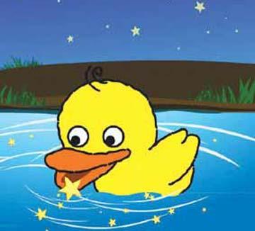 小鸭子吃星星