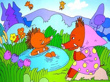 小野猪和妈妈(母爱)