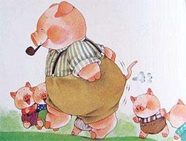 猪爸爸的大烟斗